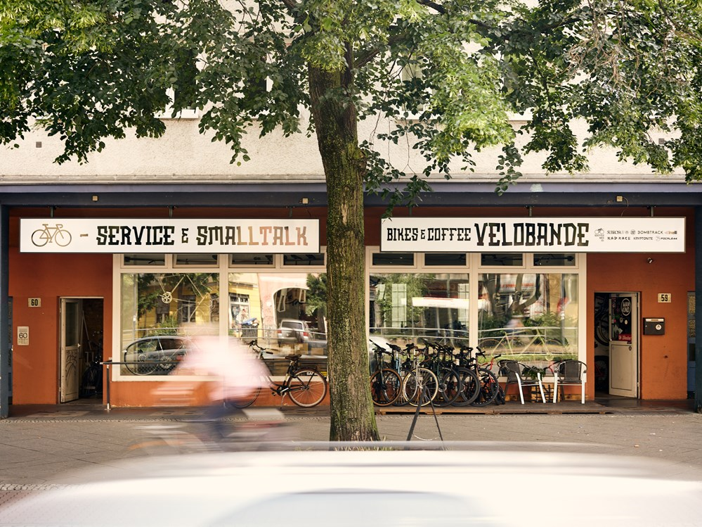 Fahrradwerkstatt: Velobande Bikes and Coffee