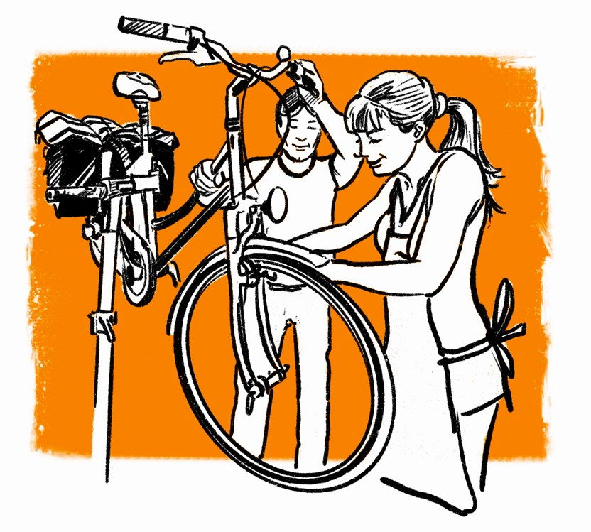 Fahrradwerkstatt: Musterbild - Bicycle Doctor